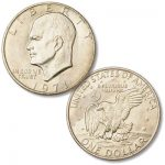 Hail to the Eisenhower dollar on its 50th anniversary!