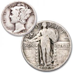Mercury Dime & Standing Liberty Quarter - Littleton Coin Blog