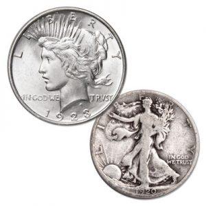 Peace Dollar & Liberty Walking Half Dollar - Littleton Coin Blog