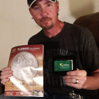 Congratulations to the grand prize winner of our recent Sweepstakes! - Littleton Coin Company Blog
