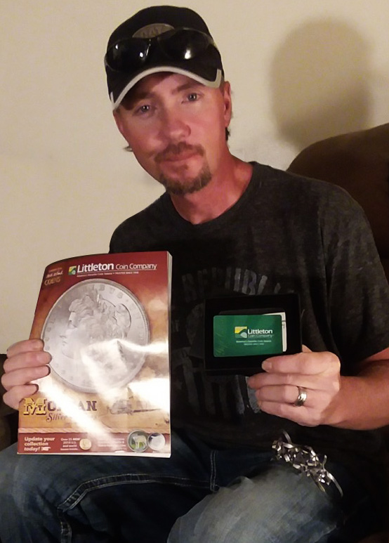 Congratulations to the grand prize winner of our recent $2,500 Gift Card Sweepstakes!