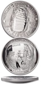 Apollo 11 Silver Dollar - Littleton Coin Blog