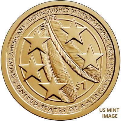 Sacred Eagle Feathers on 2021 Coin Honor Native Americans' Military Contributions – Littleton Coin Company Blog