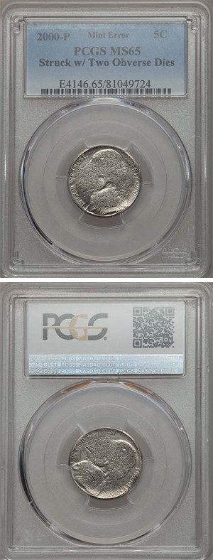 Two-headed nickel certified by PCGS - Littleton Coin Blog