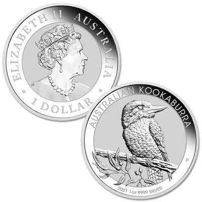 Kookaburra sits in an old gum tree on 1 oz. of silver – Littleton Coin Company Blog