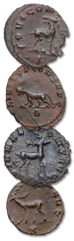 Animals on ancient coins - Littleton Coin Blog