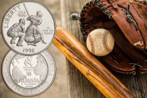 Batter at home plate ready to hit - Littleton Coin Blog