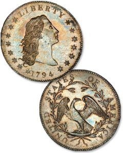 1794 Silver Dollar - Littleton Coin Blog