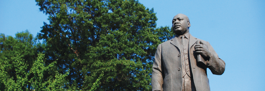 Statue of Martin Luther King, Birmingham – Littleton Coin Company Blog