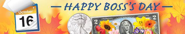Happy Boss's Day - Littleton Coin Blog