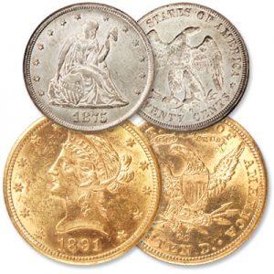 20 cent piece and $10 gold piece - Littleton Coin Blog