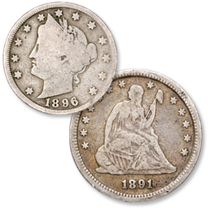 Liberty Head Nickel & Liberty Seated Quarter - Littleton Coin Blog
