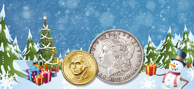 Build a collection during Christmas to share - Littleton Coin Blog