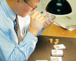 Jim grading coins - Littleton Coin Blog