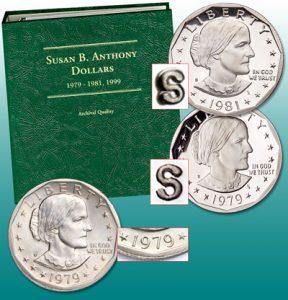Susan B. Anthony Varieties and Album - Littleton Coin Blog