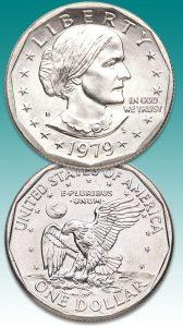 1979 Susan B. Anthony Dollar - Littleton Coin Blog