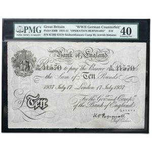 Operation Bernhard counterfeit note from WWII - Littleton Coin Blog