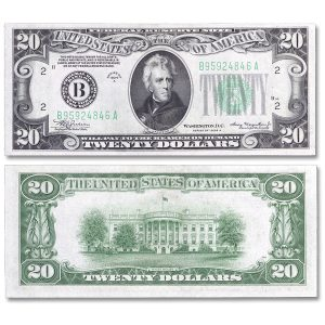 Genuine $20 Federal Reserve Note