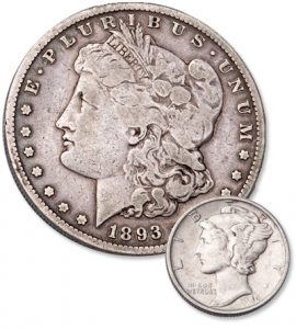 Fake Morgan Dollar & Murcruy Dime - Littleton Coin Blog