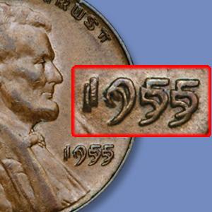 Littleton Coin Blog - 1955 Double Die