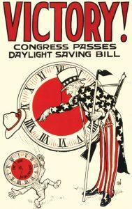 Daylight Savings Poster - Littleton Coin Blog