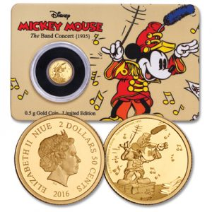 Gold Mickey Coin - Littleton Coin Blog