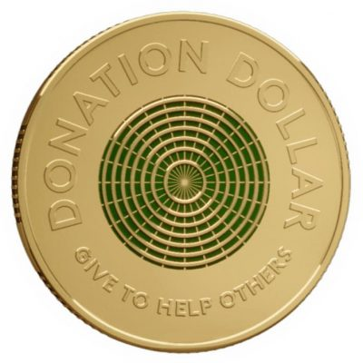 Australia releases first ever dollar meant to be donated - Littleton Coin Company Blog