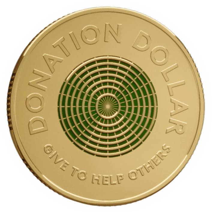 Australia releases first ever dollar meant to be donated - Littleton Coin Blog