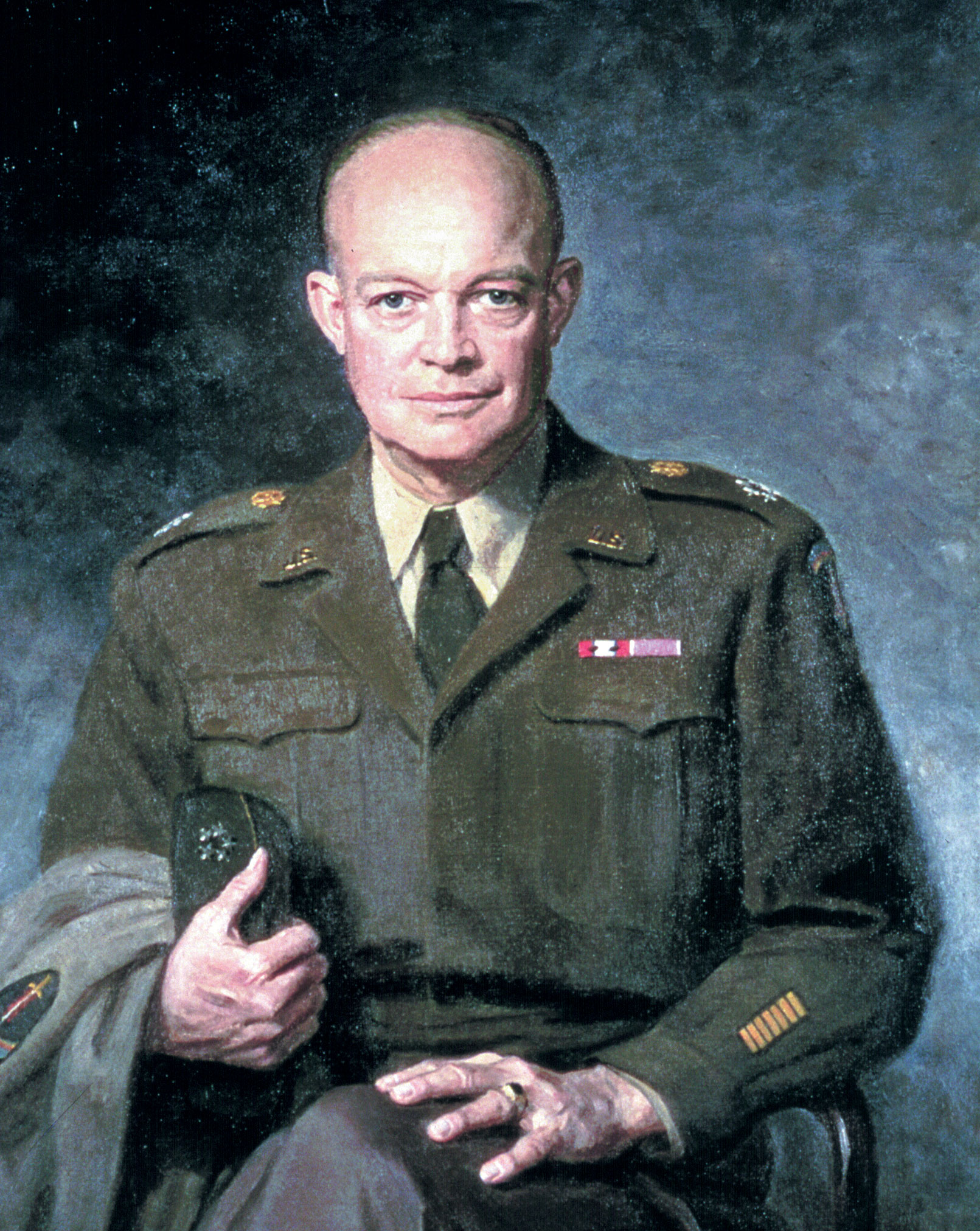 dwight d President dwight d eisenhower was born on october 14, 1890, in a modest, two-story frame house in denison, texas check out 10 surprising facts about the five-star general who also served.