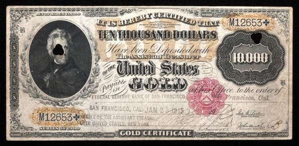 The Story Behind… High Denomination U.S. Notes – Littleton Coin Company Blog