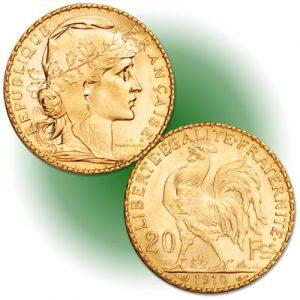 20 Francs restrike - Littleton Coin Blog
