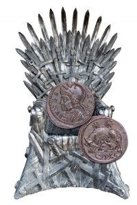 Constantine The Great on a Throne - Littleton Coin Blog