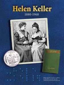 Helen Keller information card - Littleton Coin Blog
