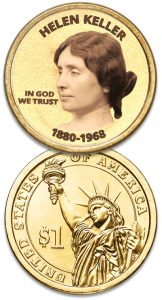 Helen Keller coin - Littleton Coin Blog