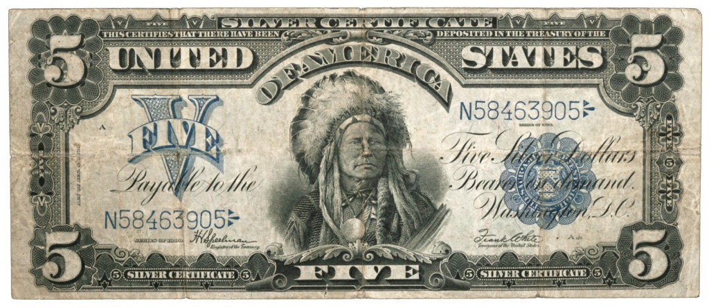 Silver Certificate - Indian Chief