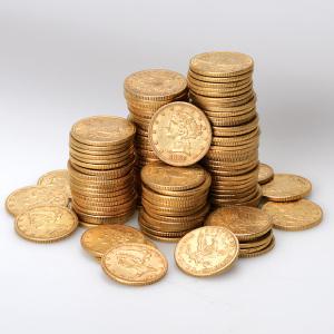 $5 Liberty Head Gold Coins