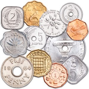 Odd shaped coins from different countries - Littleton Coin Blog