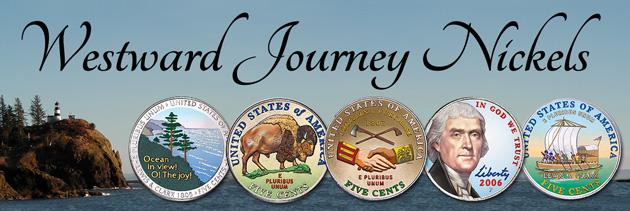 Colorized Westward Journey Nickels - Littleton Coin Blog