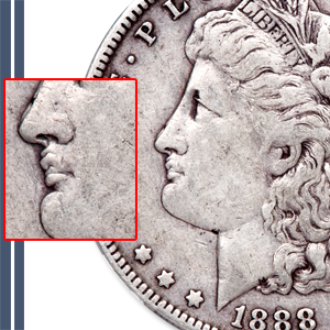 Hot Lips Morgan Dollar - Littleton Coin Blog