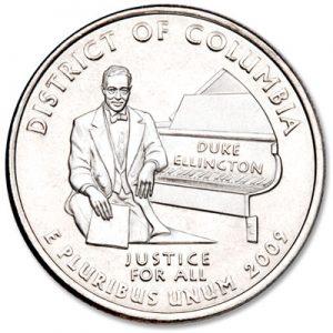 Duke Ellington - Quarter - Littleton Coin Blog
