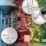 Bring the Olympic games home with one–year–only coins!
