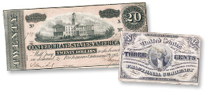 Confederate and Fractional Currency - Littleton Coin Blog