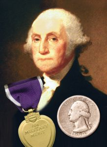 George Washington, a Purple Heart and a Washington Quarter - Littleton Coin Blog