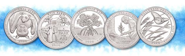 2020 National Park quarter designs - Littleton Coin Blog