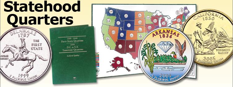 Statehood Quarters (1999-2008) - Littleton Coin Blog