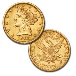 Gold Half Eagle - Littleton Coin Blog