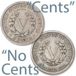 "The tale of a U.S. nickel  known as the coin with<br/>""No Cents"""
