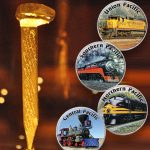 Recalling the golden railroad spike that connected the country 150 years ago
