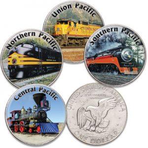 Famouse American Railroads Set