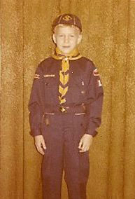 Kevin as a Cub Scout - Littleton Con Blog